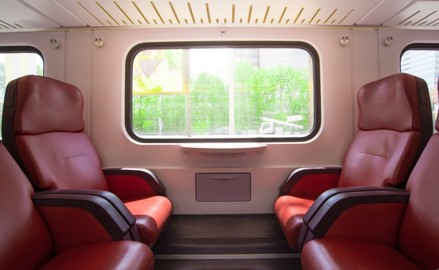 sièges train