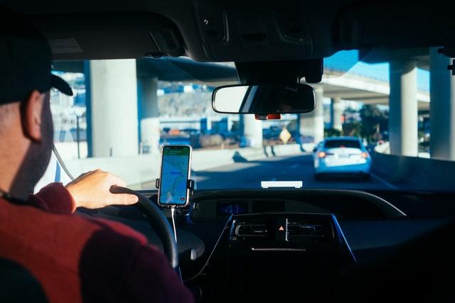 chauffeur voiture uber