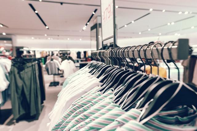 vêtements magasin