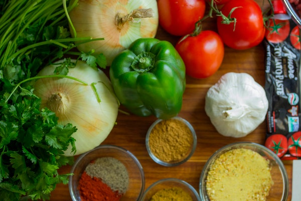 légumes table