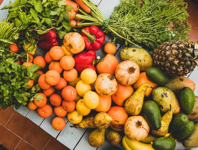fruits légumes bio l'eau vive