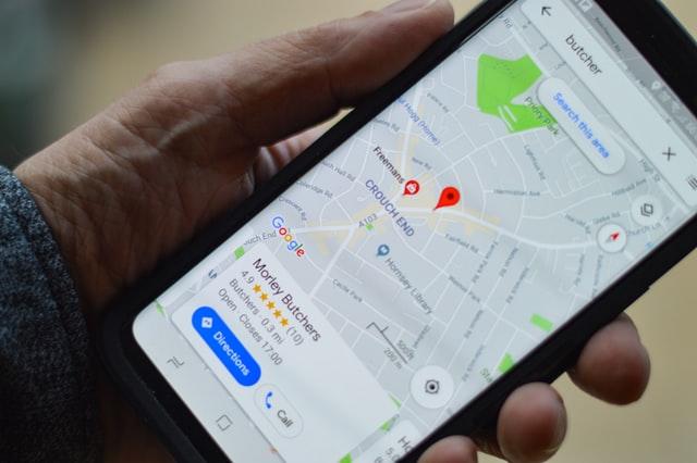 google maps portable