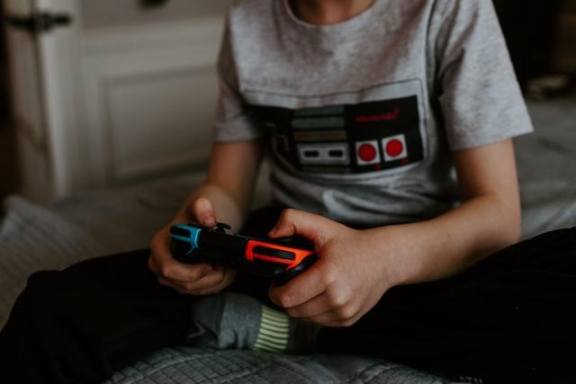 manette jeux vidéo