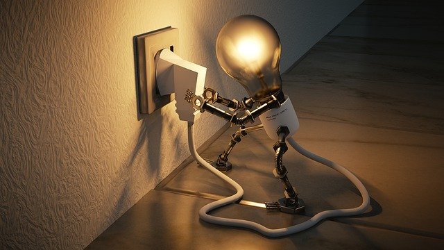 ampoule allumée
