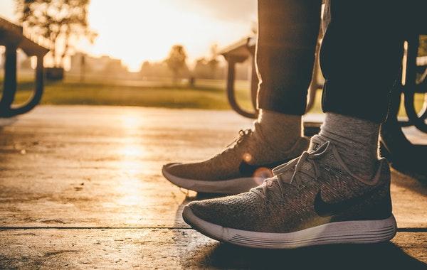 baskets jogging