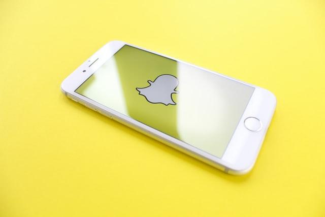 écran portable snapchat
