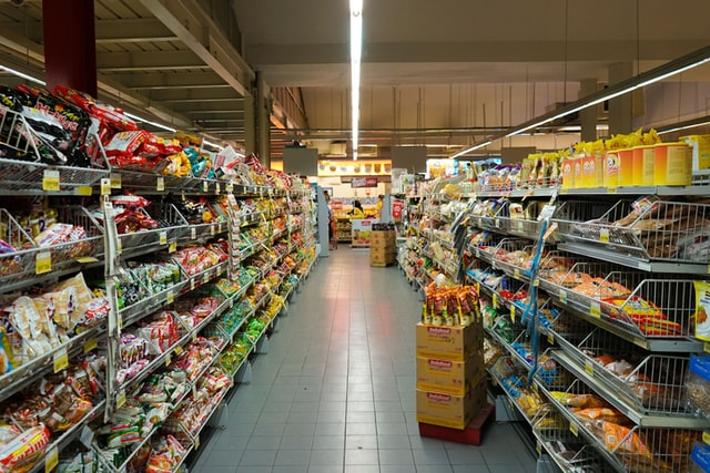 rayon magasin carrefour