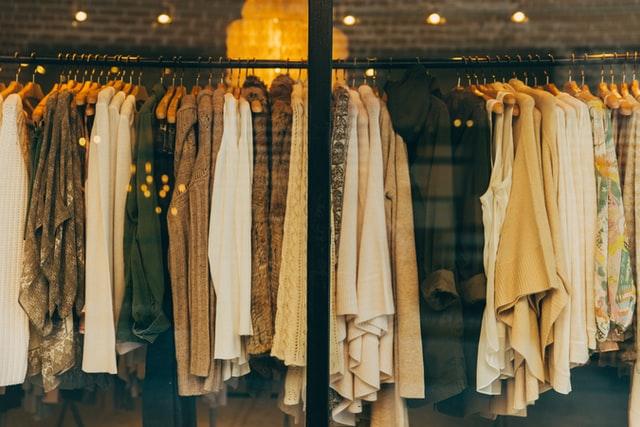 rayons vêtements zara