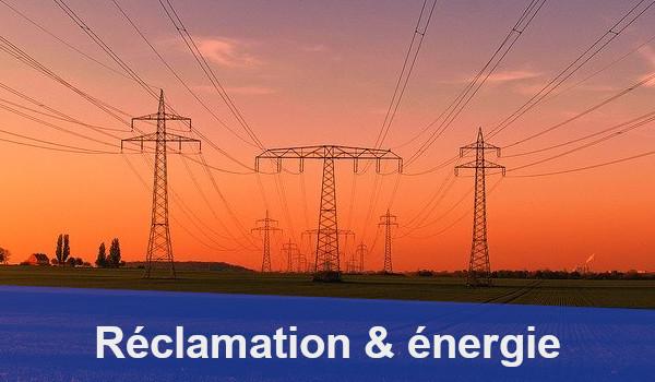 réclamation énergie