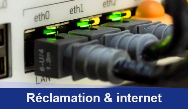 réclamation internet