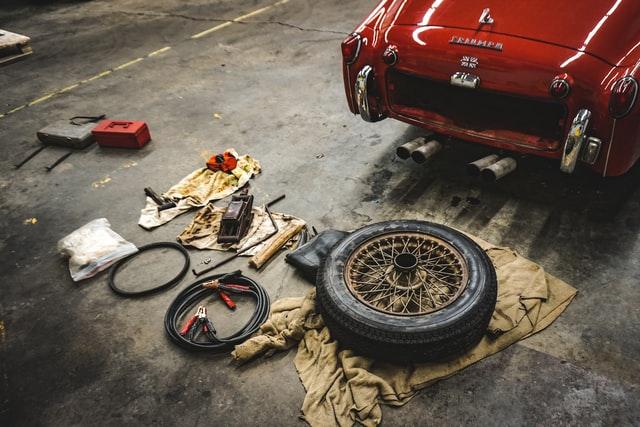 réparation pièces voiture