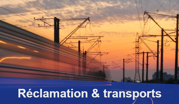 réclamation transports