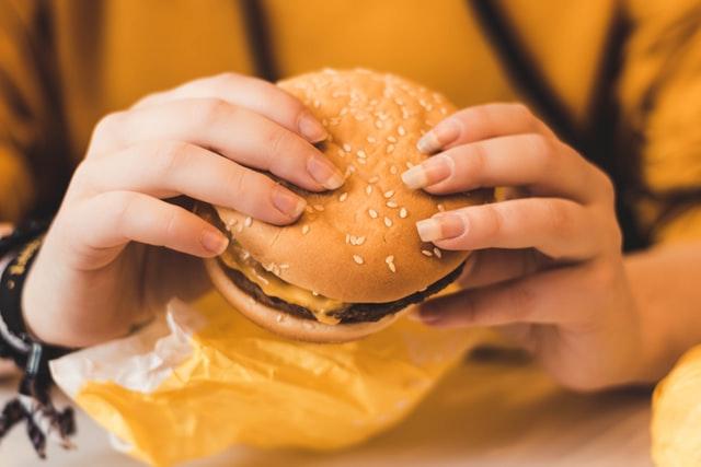 hamburger uber eats