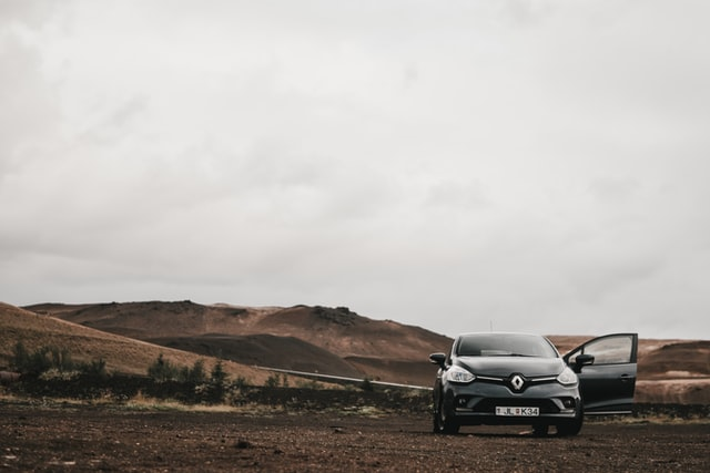 paysage voiture renault