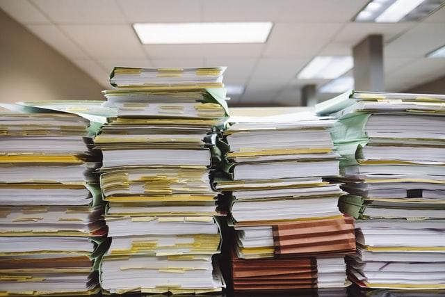 dossiers papiers