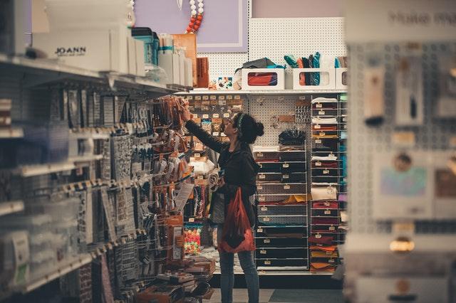 rayon magasin